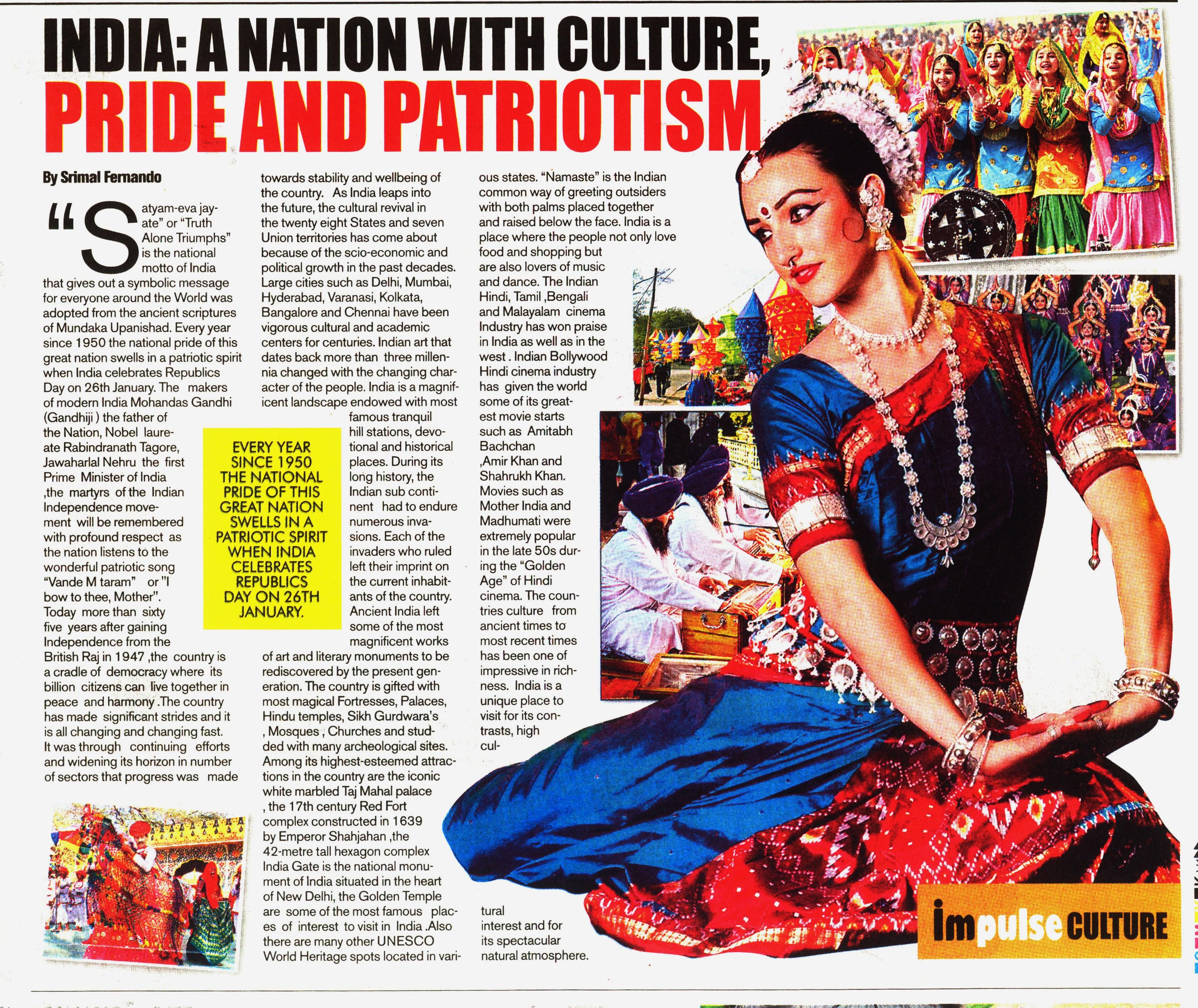 patriotism and national pride